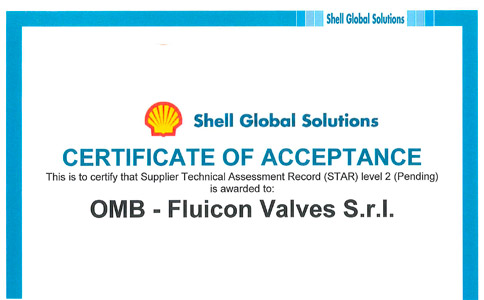 Successful completion of Shell TAT for Fluicon 8